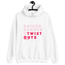 Load image into Gallery viewer, Sailor Scouts & Twist Outs Hoodie