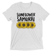 Load image into Gallery viewer, Sumurai Champloo Sunflower Samurai T Shirt | Sunflower Samurai T-Shirt | Samurai Champloo T shirt, tee, mugen, fuu, nujabes, quirktastic