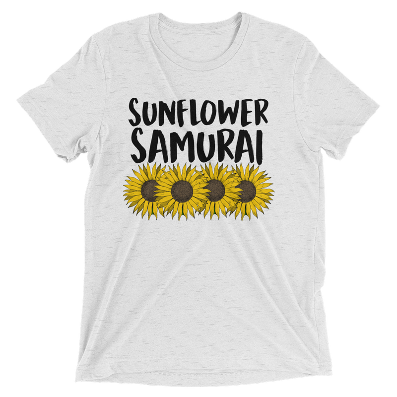 Sumurai Champloo Sunflower Samurai T Shirt