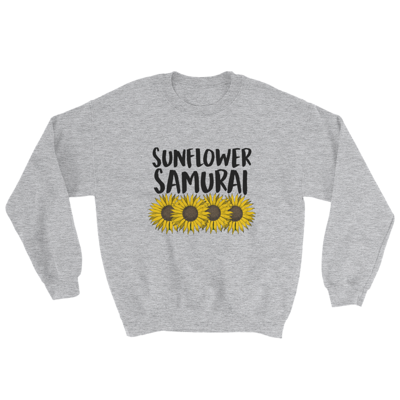 Sunflower Samurai Crewneck Sweatshirt