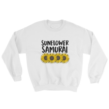 Load image into Gallery viewer, Sunflower Samurai Crewneck Sweatshirt |Sumurai Champloo Sunflower Samurai T Shirt | Samurai Champloo T shirt, tee, mugen, fuu, nujabes, quirktastic