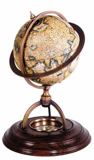 Authentic Models GL019 Terrestrial Globe With Compass - Peazz.com