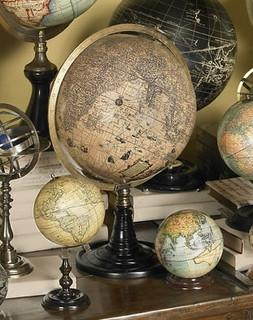 Authentic Models GL046 Old World Globe Stand - Peazz.com