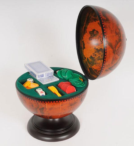 Globe Poker Set NG017 - Peazz.com