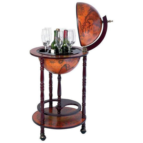 "Kassel 13""  330mm Diameter Wine Globe Bar - Peazz.com"