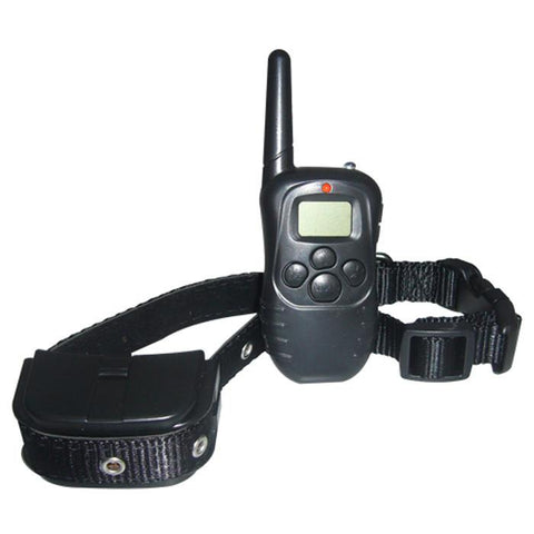 300 Yard Petrainer Remote Training System with Flashing LED Collar - MK998DL-1D - TrueGlobes