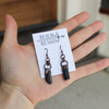 Black Tourmaline Earrings - B
