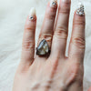 Gold Rutile Ring size 5.5