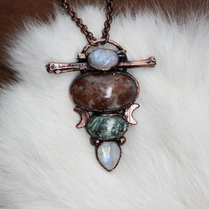 Celestial Forest Mage Necklace