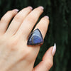 Purple Labradorite Ring size 10