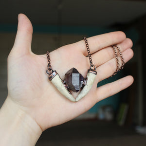 Brandberg Amethyst Forest Dweller Necklace