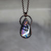 Purple Labradorite Necklace - c