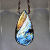 Giant Labradorite Necklace