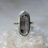 Herkimer Diamond Ring size 9