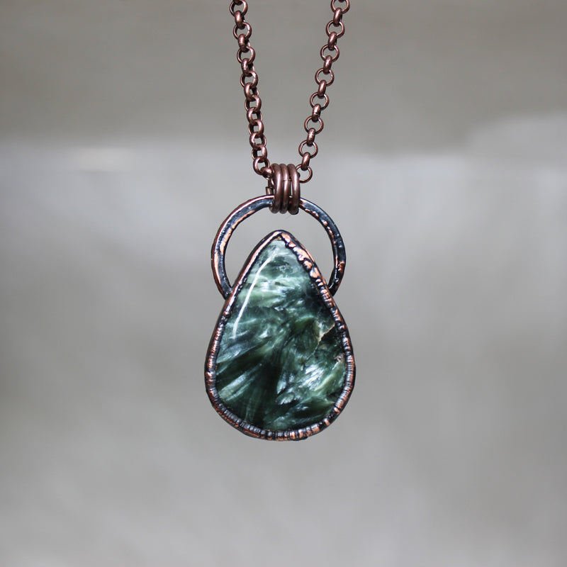 Seraphinite Necklace - b