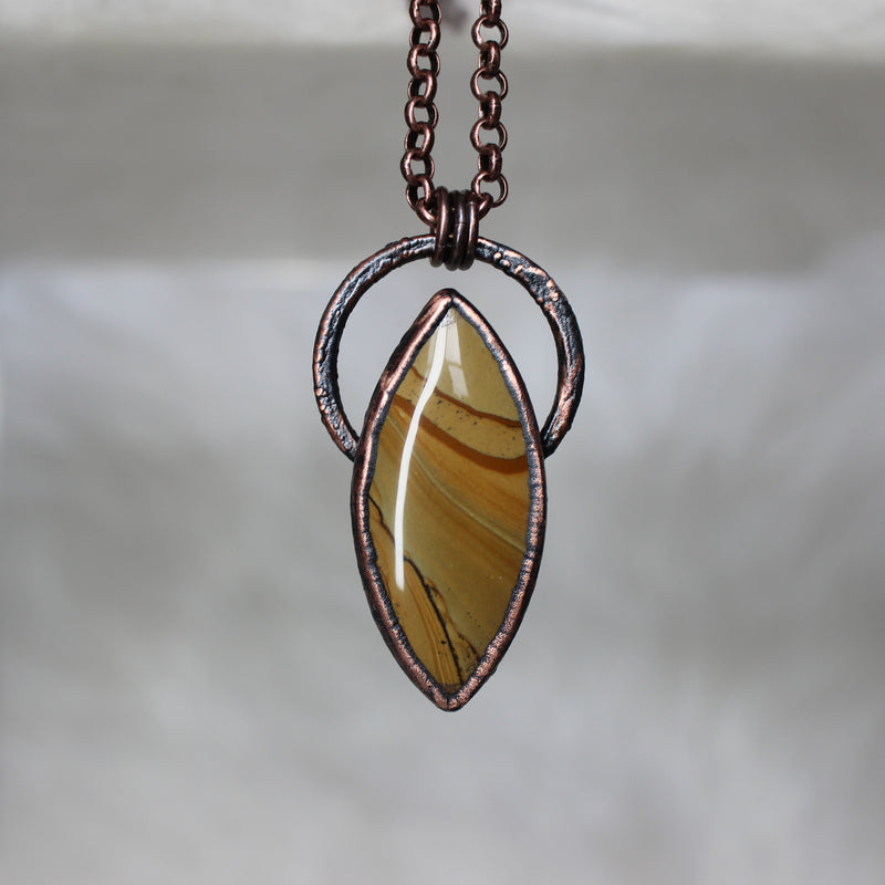 Owyhee Jasper Necklace - d