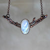 Rainbow Moonstone Branch Bib