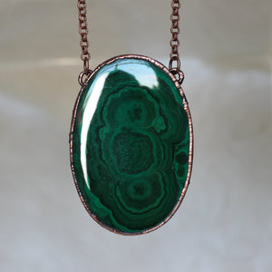 Large Malachite Necklace