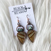 Owyhee Jasper & Turquoise Earrings
