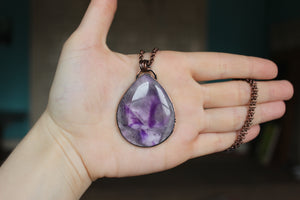 Large Apex Amethyst - B