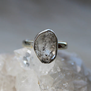 Herkimer Diamond Ring size 7
