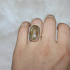 Golden Rutile Ring size 5.75