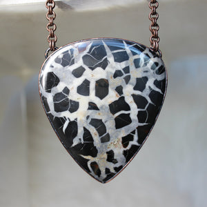 GIANT Septarian Necklace B