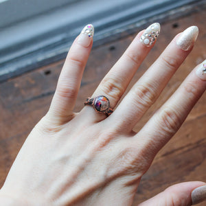 Galaxy Opal Ring size 6.25