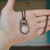 Small Enhydro Quartz Necklace - D