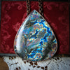 GIANT labradorite Necklace C