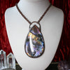 GIANT Labradorite Necklace - A