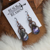 Purple Labradorite Earrings - B