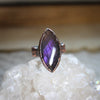 Purple Labradorite Ring size 5