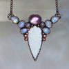 Gem Lepidolite Fae Necklace