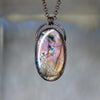 Purple Labradorite Necklace - e