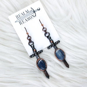 Sword in the Stone Earrings