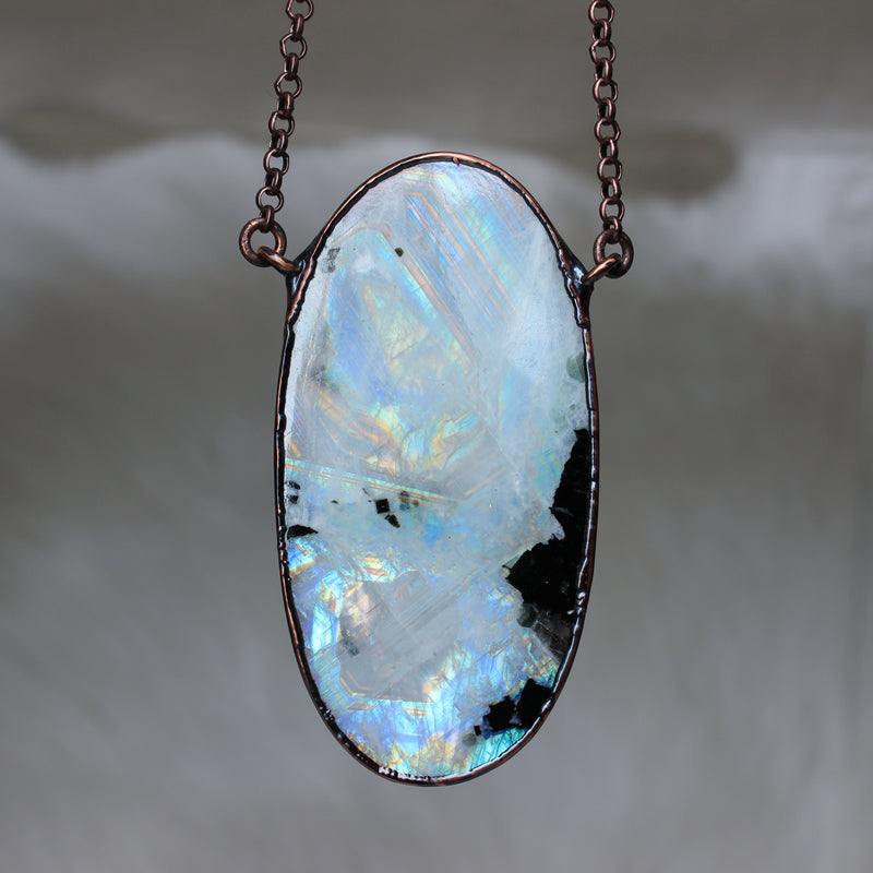 Giant Rainbow Moonstone - b