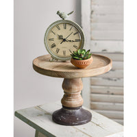Round Wood Display stand