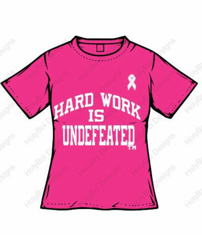 HW T-Shirt (Breast Cancer Awareness )