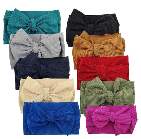 Head Wrap Bows