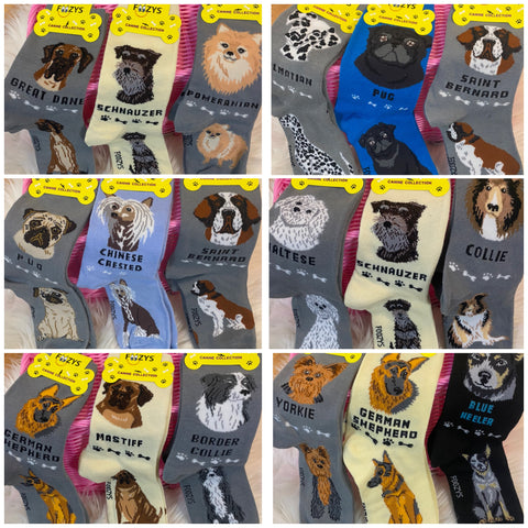 Foozy's Dog Breed Socks
