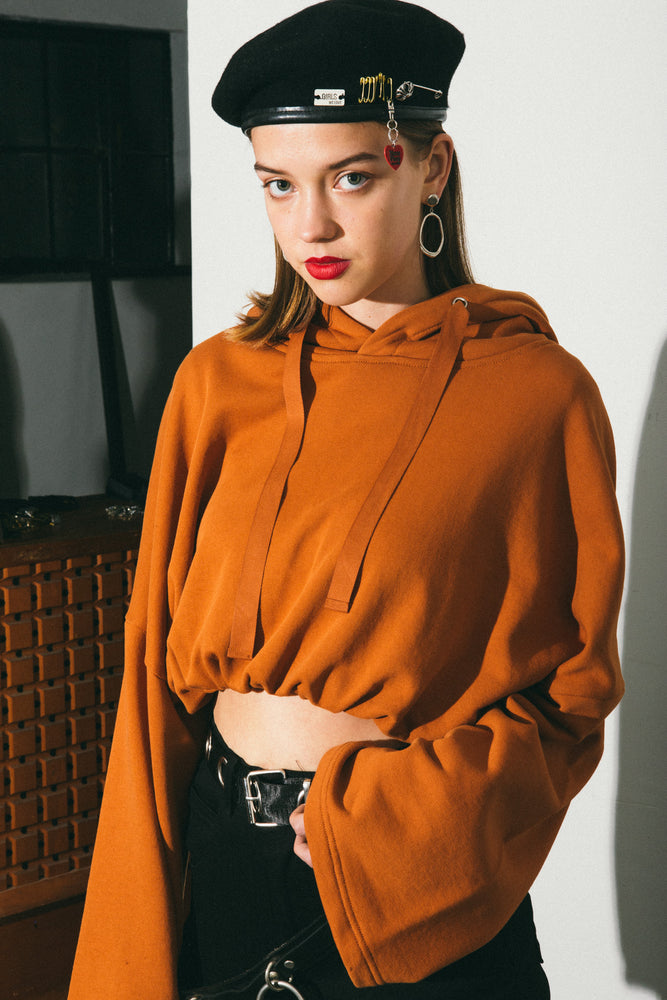MAPLE Cropped hoodie