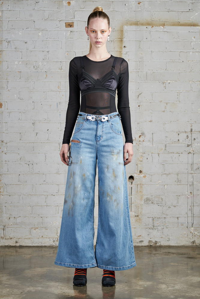"Wide leg jeans ""ONLY pre-order available"""