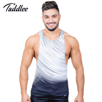 Taddlee Brand Mens Tank Top Undershirts Sexy Designed 3D Printed Top Tees Shirts Sleeveless Stringer Sinlets Bodybuilding
