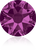 Swarovski 2088 Xirius Rose Flat Back Crystal- Fuschia- 4.7mm (ss20)