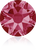 Swarovski 2088 Xirius Rose Flat Back Crystal- Indian Pink- 4.7mm (ss20)