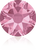 Swarovski 2088 Xirius Rose Flat Back Crystal- Light Rose- 4.7mm (ss20)