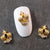 Gold Crown Nail Charm (2 pcs) - Naildrobe Nail Supplies