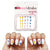 Cocktail Nail Decals  (Waterslide Nail Decal) - Naildrobe Nail Supplies