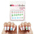 Easter Egg Nail Decals  (Waterslide Nail Decal) - Naildrobe Nail Supplies